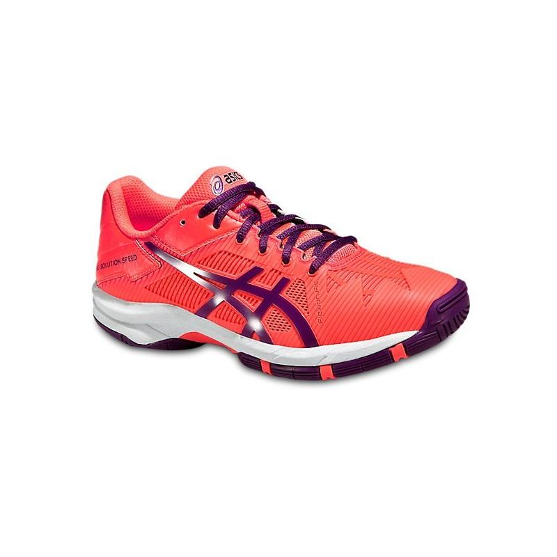 Asics Solution Speed 3 Jr Tennis Shoe