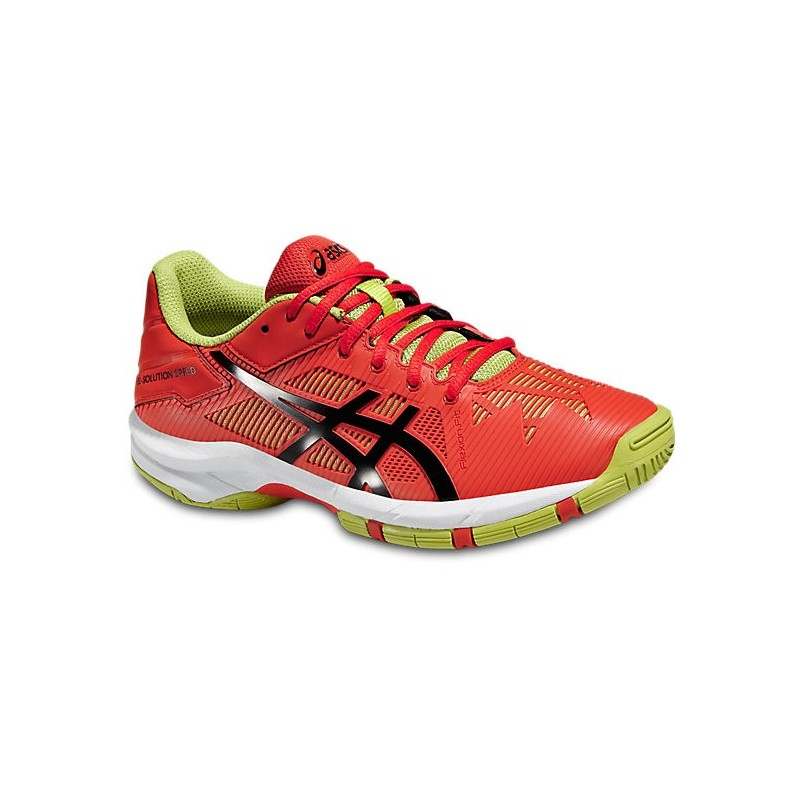 Asics Solution Speed 3 Jr Tennis Shoe
