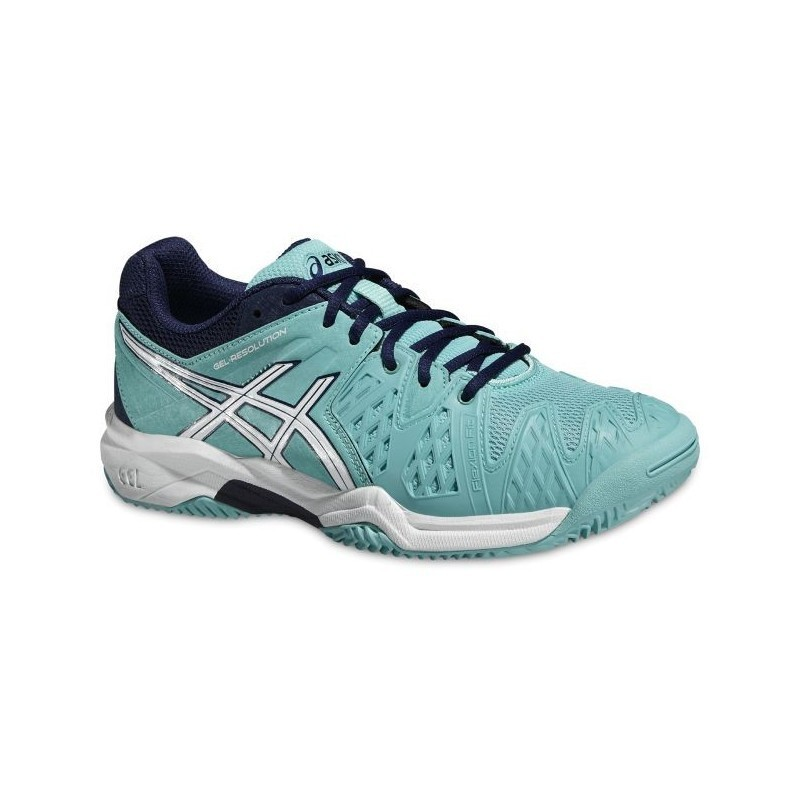 Asics Resolution 6 Jr Tennis Shoe CLAY