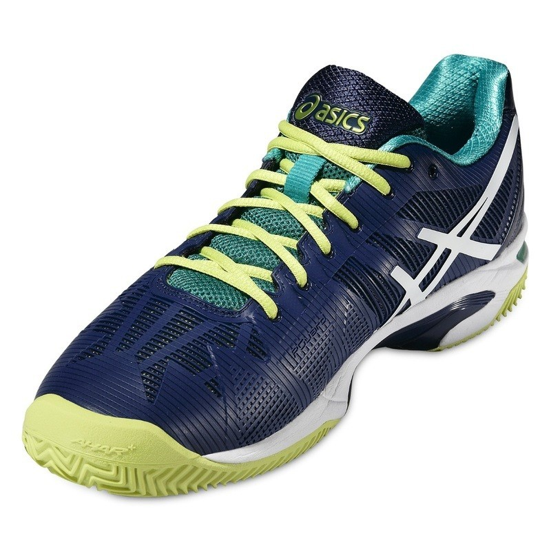 Asics Men's Solution Speed 3 Tennis Shoe CLAY