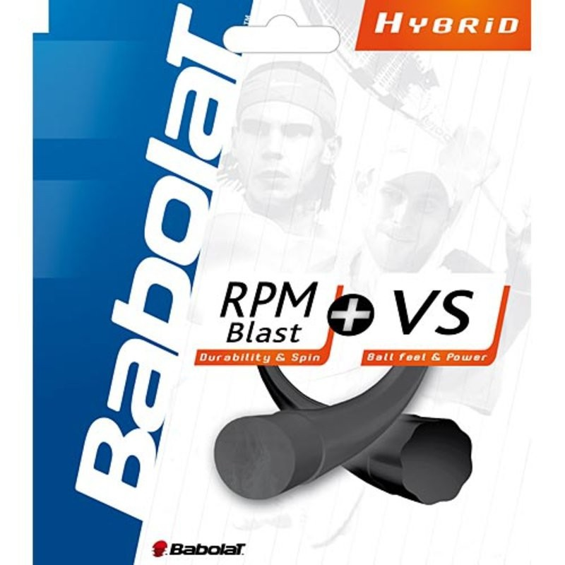 Babolat RPM Blast + VS Hybrid Tennis String Set