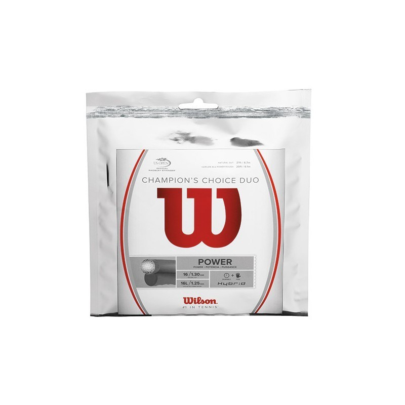 Wilson Champion's Choice Duo Tennis String  Set