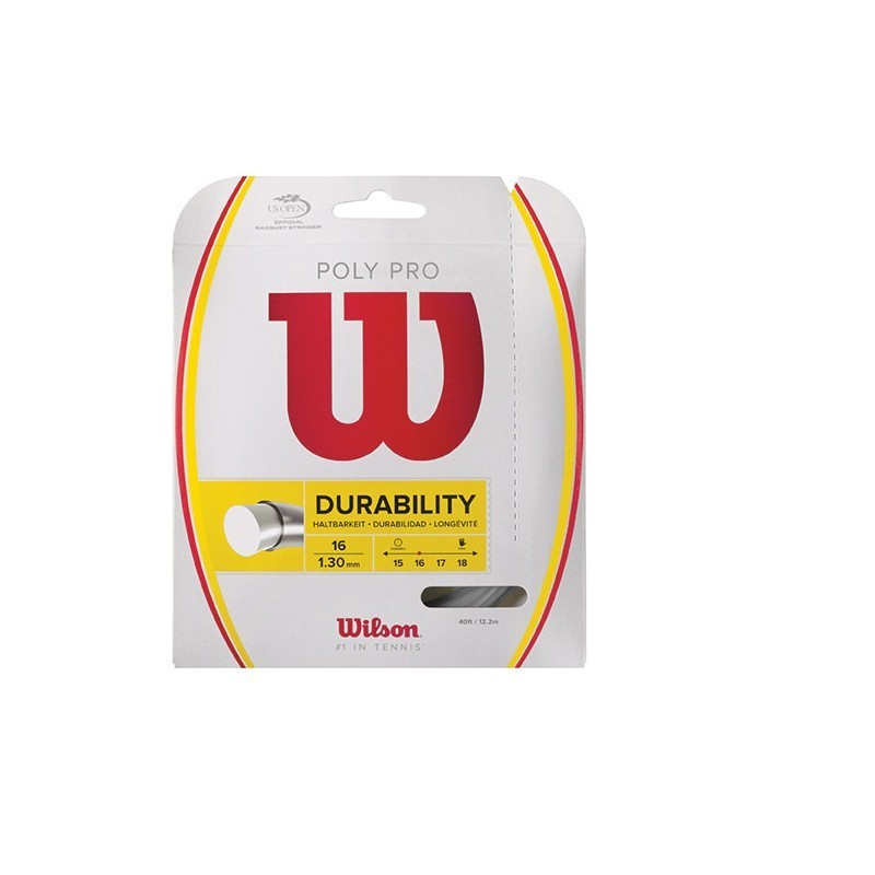 Wllson Poly Pro Tennis String Set