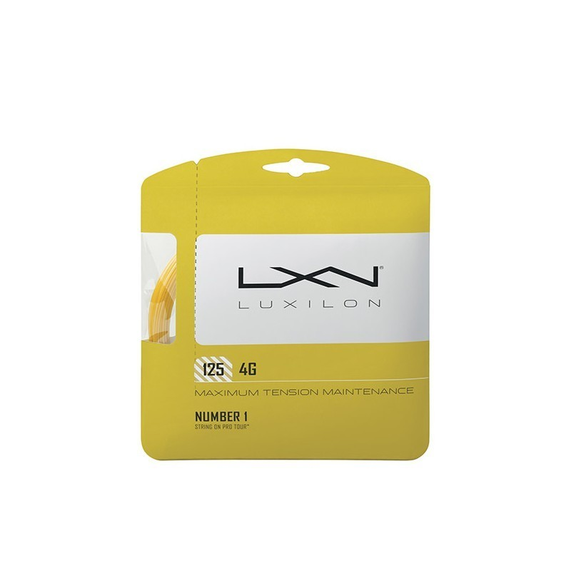 Luxilon 4G Tennis String Set