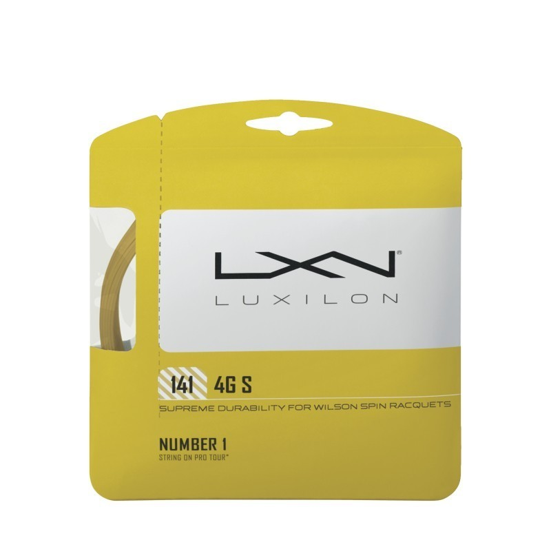 Luxilon 4G s 141 Tennis String Set