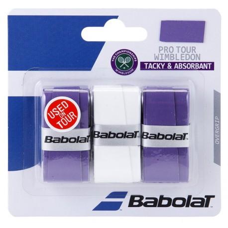 Babolat Pro Tour Wimbledon Overgrip x3