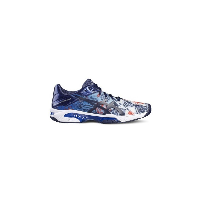 Asics Men's Solution Speed 3 L.E. Paris Tennis Shoe