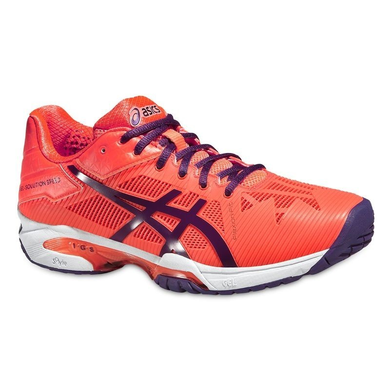 Asics Women's Solution Speed 3 Tennis Shoe