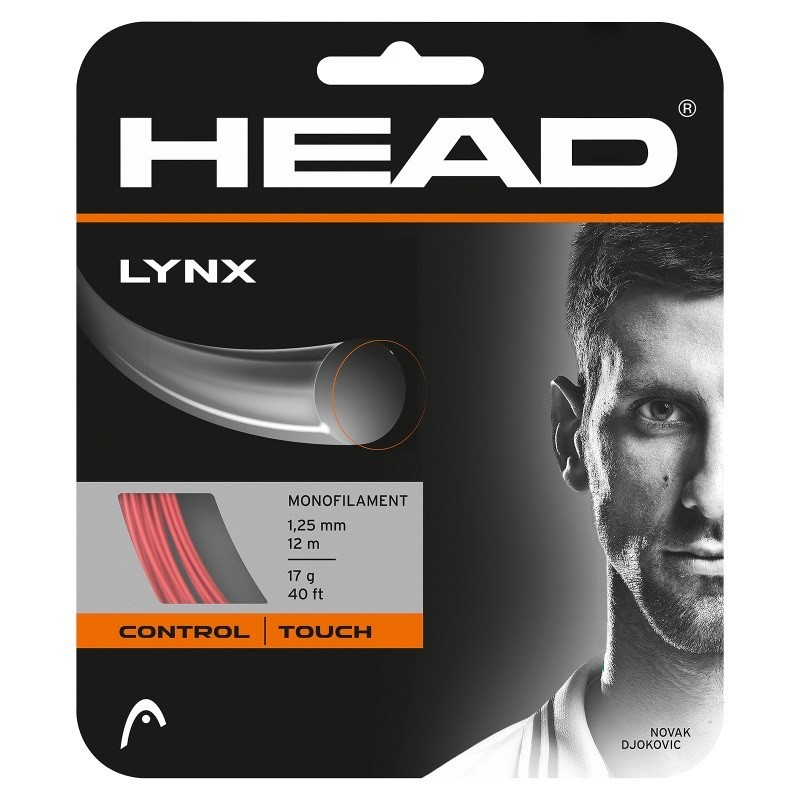 Head Lynx Tennis String Set Red