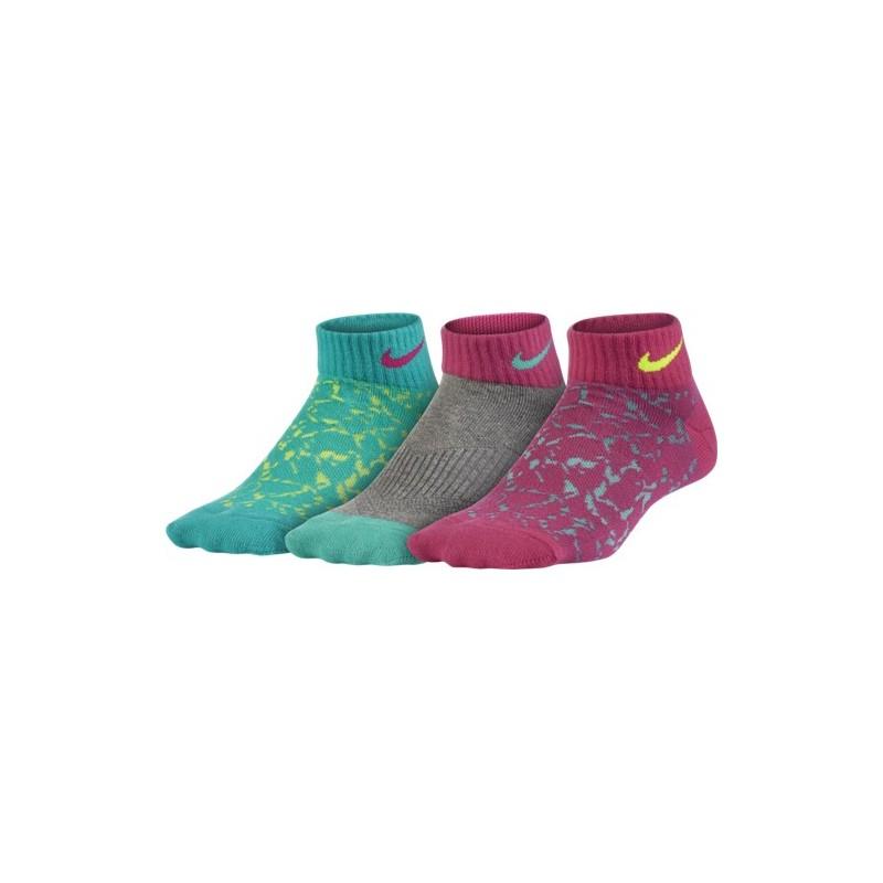 Girls' Nike Performance Lightweight Low Sock (3 Pair)