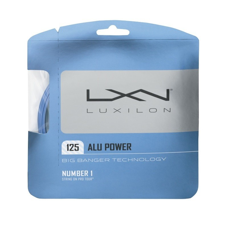 Luxilon Alu Power Ice Blue 125 Tennis String