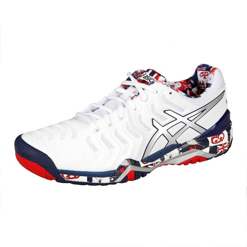 Asics Men's Gel Resolution 7 L.E. London Tennis Shoe