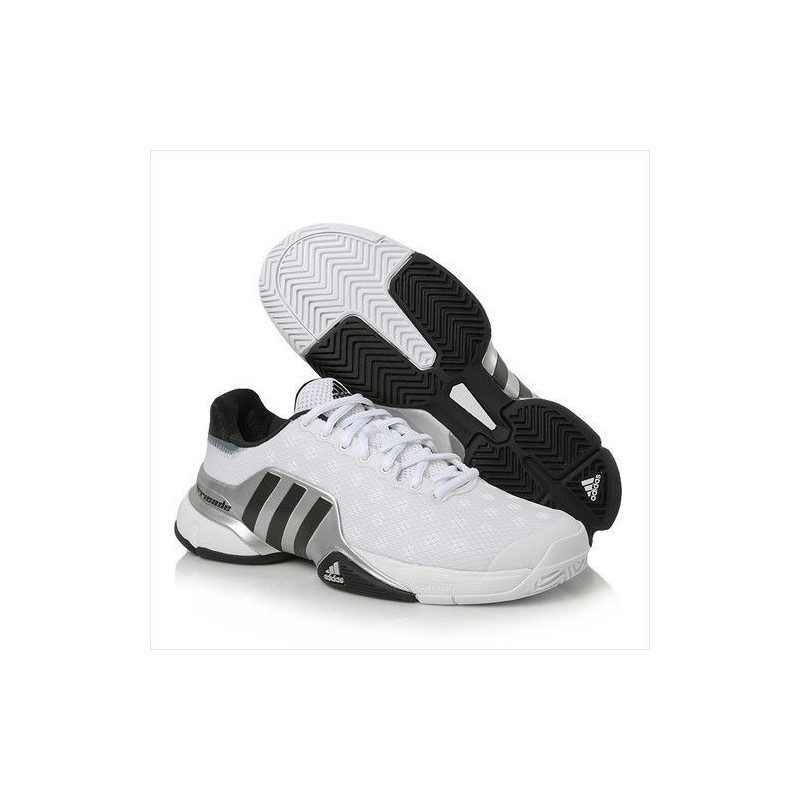 Adidas Men's Barricade White Tennis Shoe