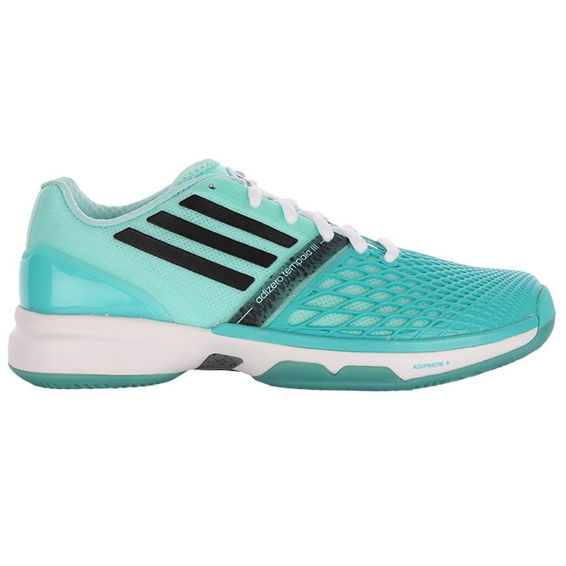 Adidas Women's Adizero Tempaia III Green Tennis Shoe