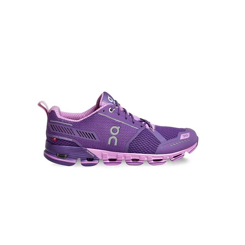 ON Womens Cloudflyer Running Shoe Purple Rose
