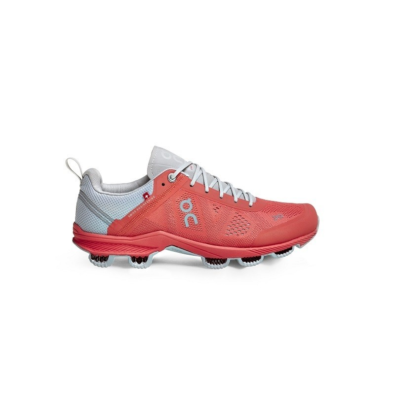 ON Womens Cloudsurfer Running Shoe Lava Glacier