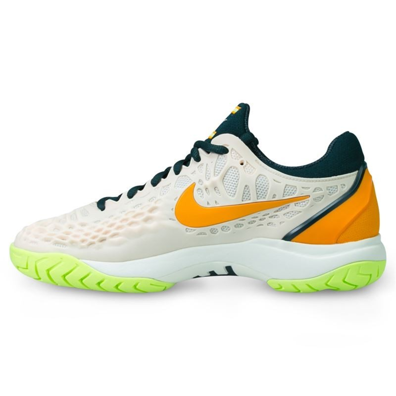 Womens Air Zoom Cage 3 Tennis Shoe Guava Ice Orange Green