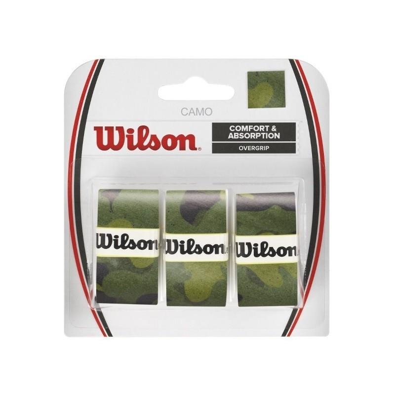 Wilson Camo Overgrip 3PK Green