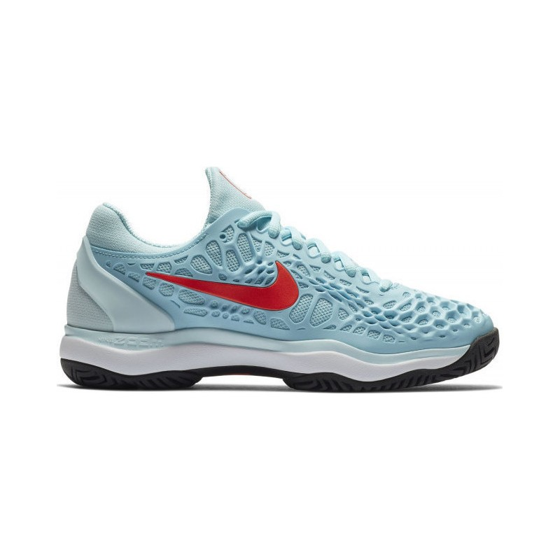 Womens Nike Zoom Cage 3 Tennis Shoe 918199-400 HO18