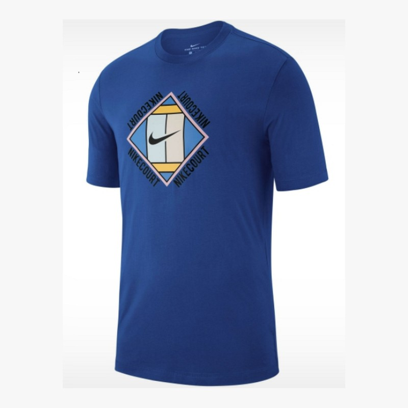 Mens Nike Nkct Tee Oz Gx Blu