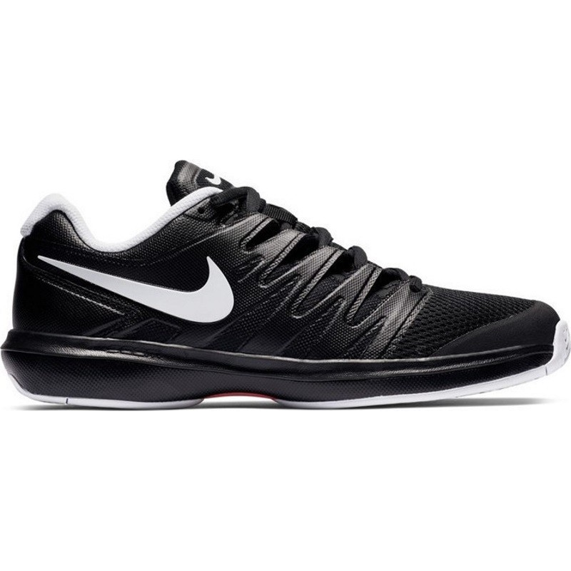 Mens Nike Air Zoom Prestige Tennis Shoe BLACK