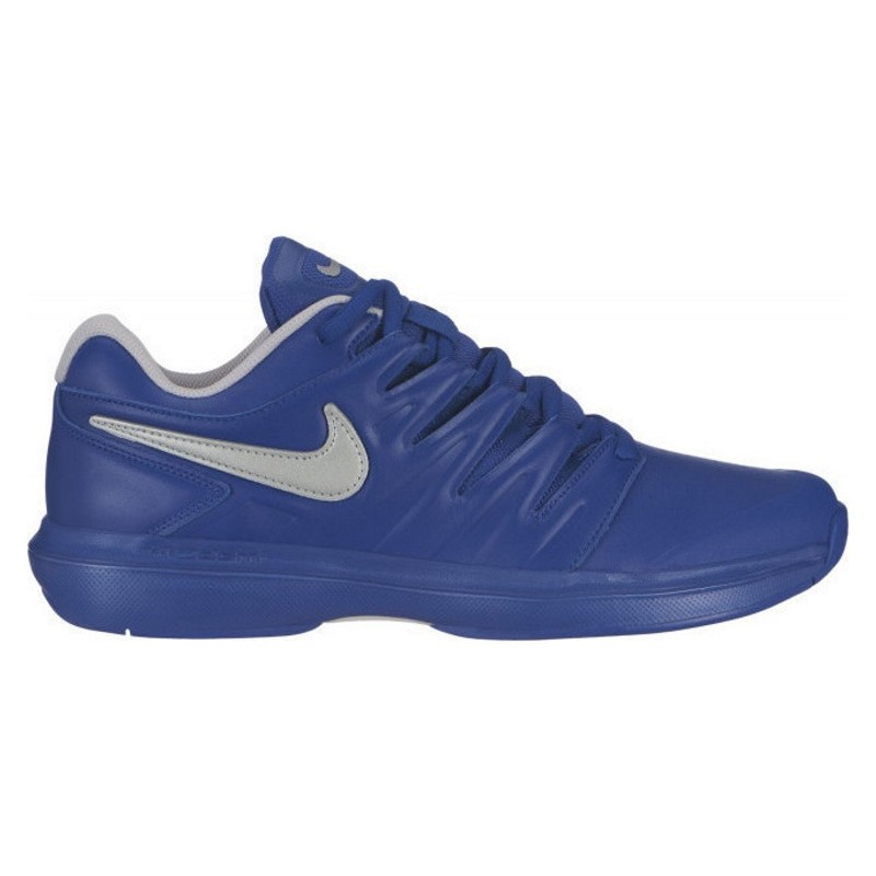 Mens Nike Air Zoom Prestige Leather Tennis SHoe BLUE