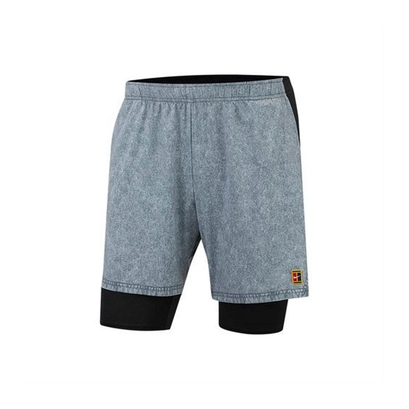 Mens Nike NKCT FLEX ACE PRO SHORT GREY