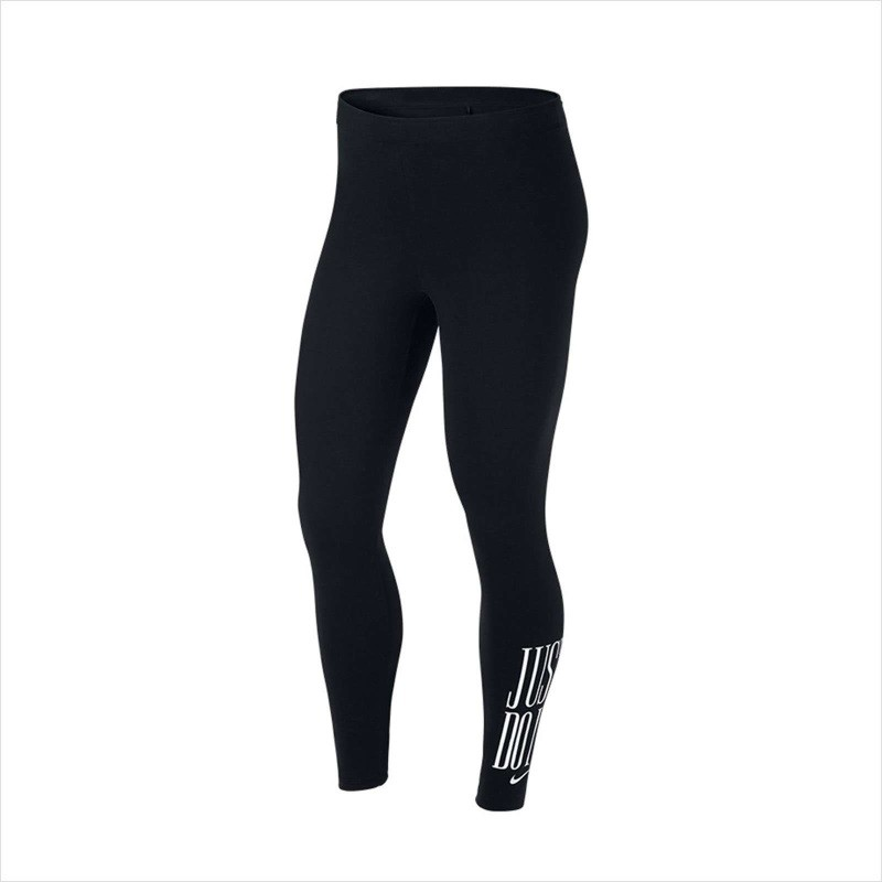 Womens Nike NSW Legging Club BLACK