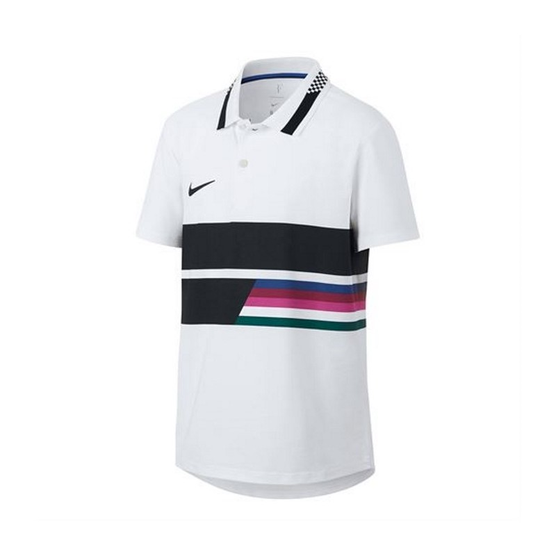 Boys Nike NKCT Advantage  Polo Classic WHITE