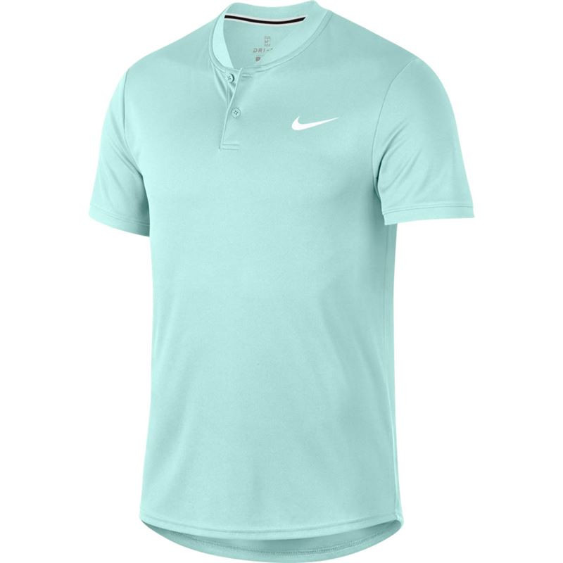Mens Nikecourt Dry Polo Blade Teal TInt
