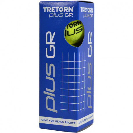 Tretorn plus GR 3 Pack Beach Racket Balls