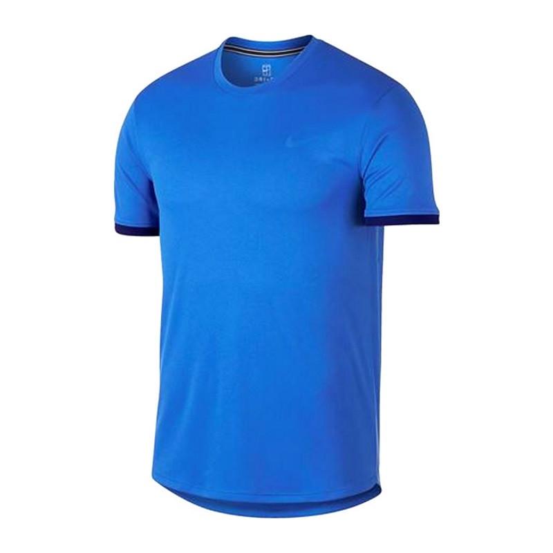 Mens Nike Dry Top SS CLRBLK Blu