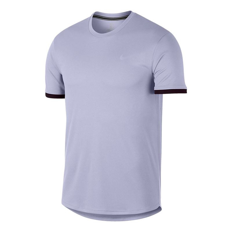 Men Nike Nkct Dry Top CLRBLK Purple