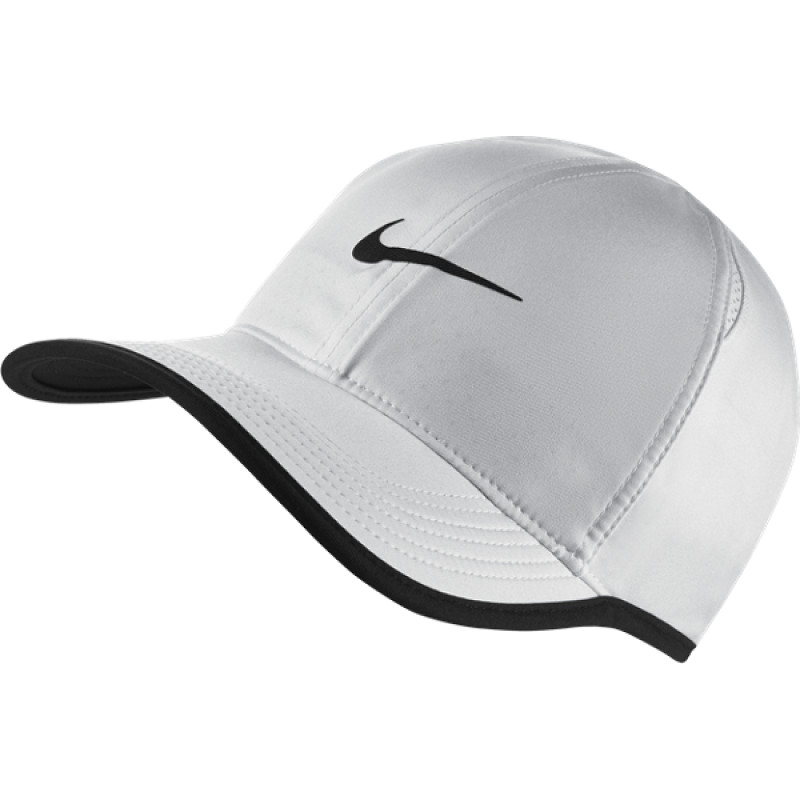 Nike court Aerobill Featherlight Tennis Cap White