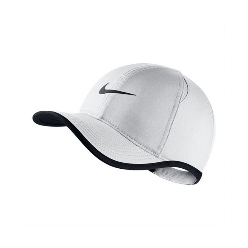Kids Nike Aerobill Featherlight Cap White