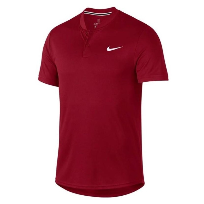 Mens Nike Dry Polo Blade Crimson
