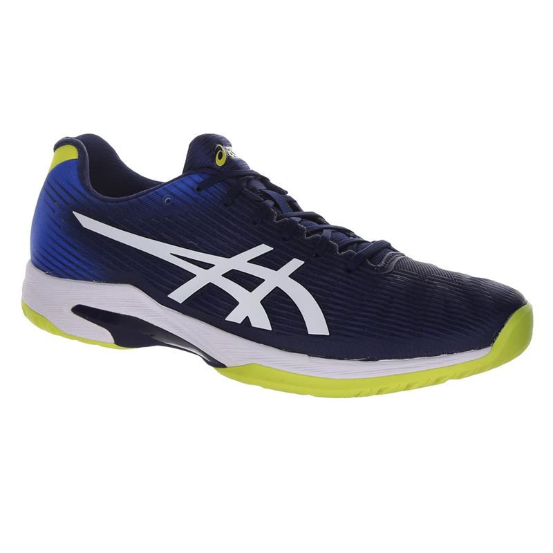 Asics Mens Solution Speed FF BLUE WHITE  Tennis Shoe