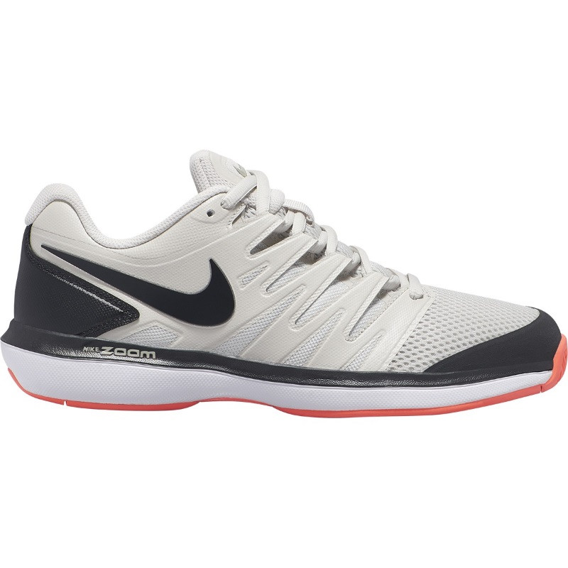 Mens Nike Air Zoom Prestige Tennis Shoe Grey