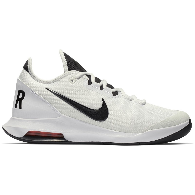 Mens Nike Air Max Wildcard Tennis Shoe WHITE BLACK