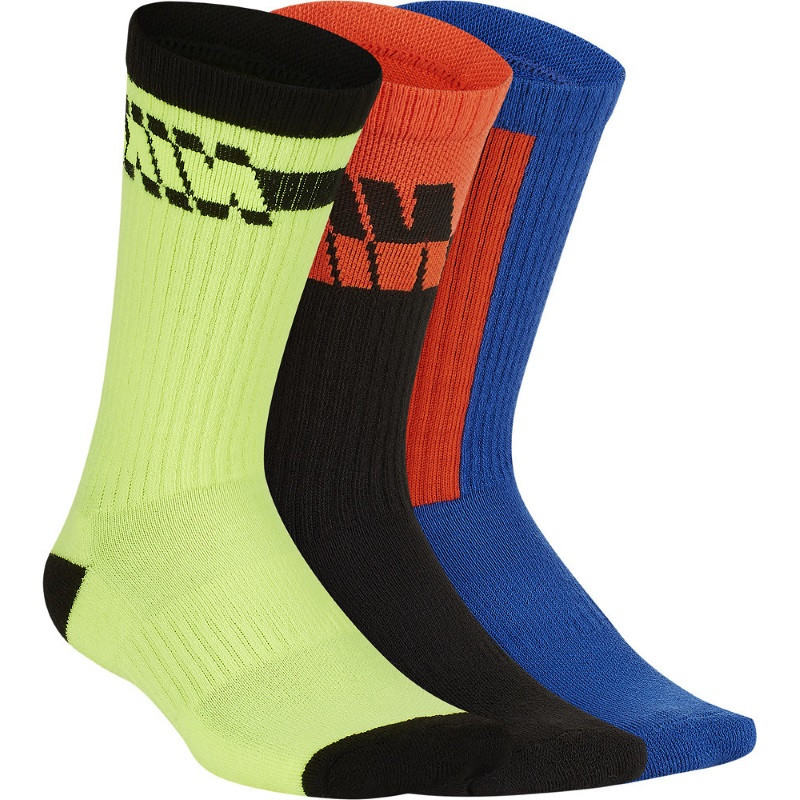 Juniors Everyday Cudh Crew Multicolor Sock 3 Pair