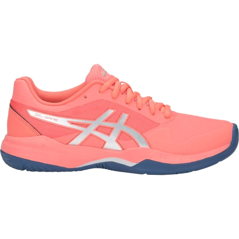 Asics Womens Gel Game 7 Pink Tennis Shoe