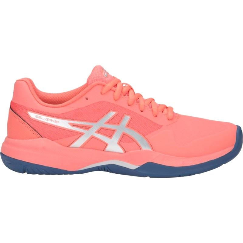 Asics Womens Gel Game 7 Pink Tennis Shoe