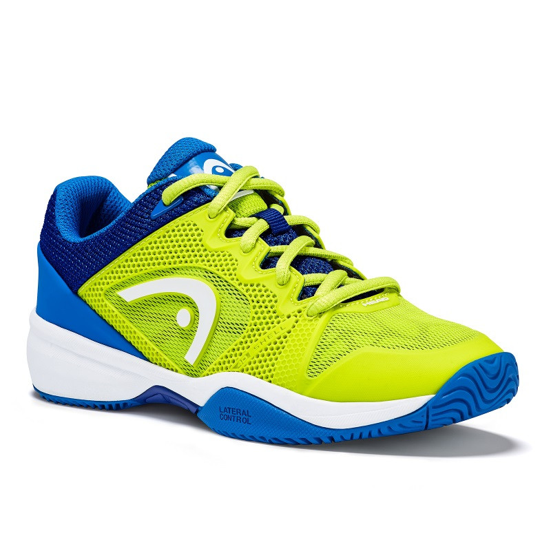Head Revolt Pro 2.5 Junior Tennis Shoe GREEN-BLU