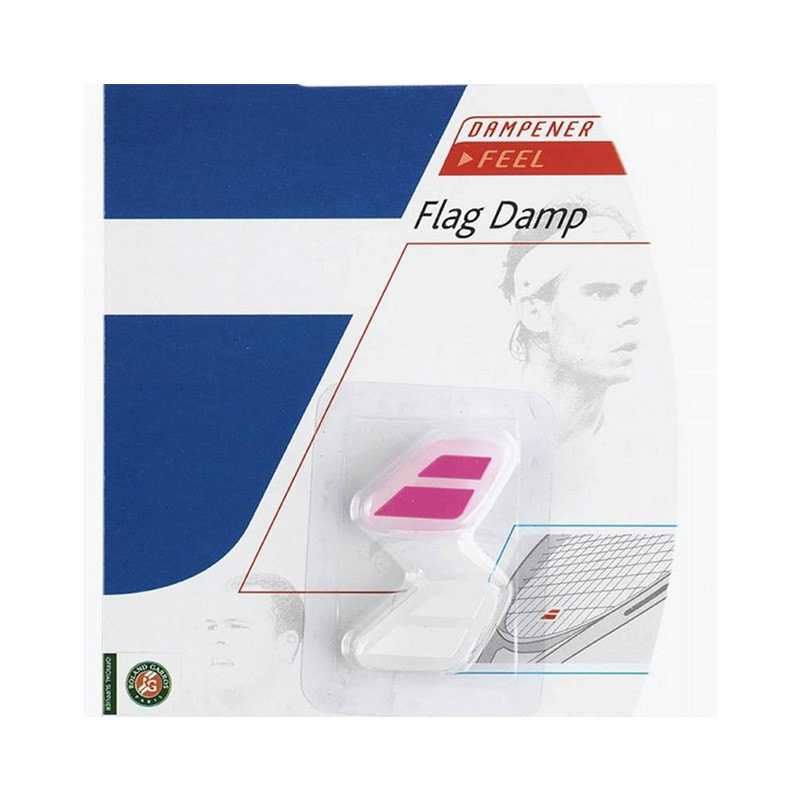 Babolat Flag Damp Vibration Dampener WH PINK
