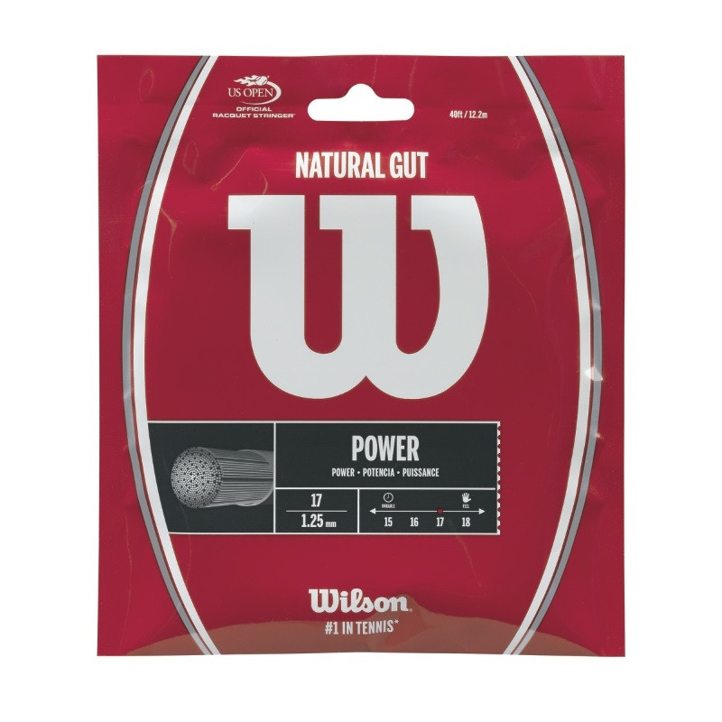 Wilson Natural Gut 1.30 Tennis String Set