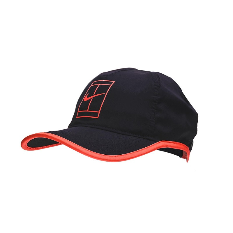 NikeCourt AeroBill Featherlight Tennis Cap 864105-524