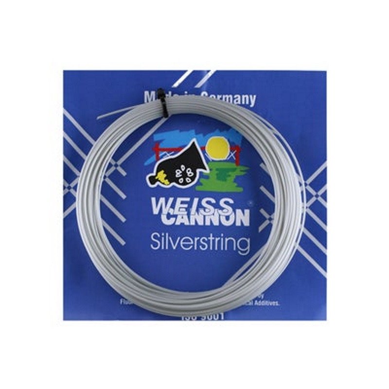 Weiss Cannon Silverstring 1.25 Tennis String set