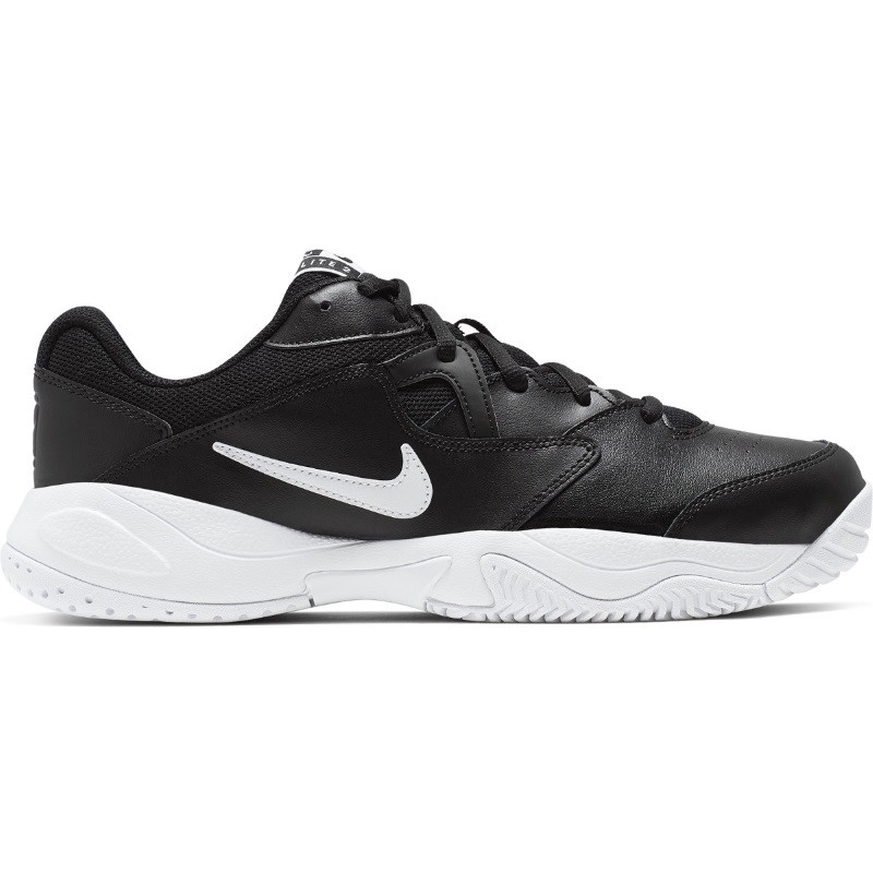 Mens Nike Court Lite 2 Tennis Shoe Black