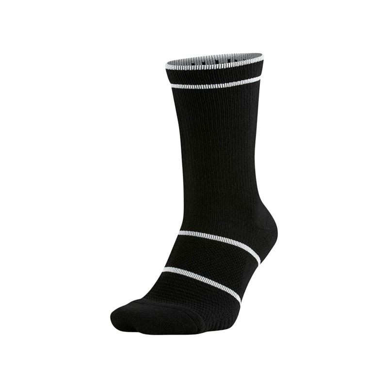 Nike Essentials Crew BLACK Tennis Socks
