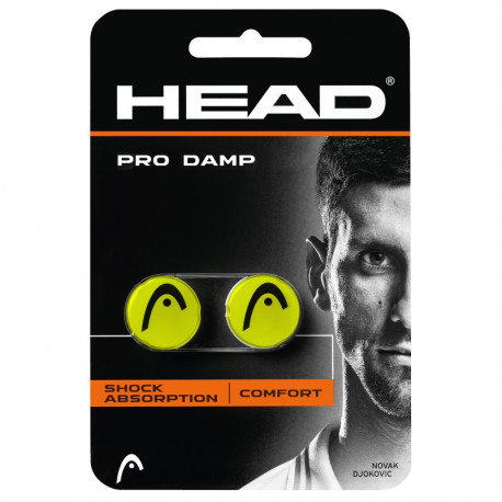 Head Pro Damp YELLOW Vibration Dampener